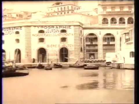 Vidéo très rare de Alger 1890
