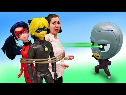 Леди Баг и Супер Кот в опасности! Барби с Бражником - Мультик для девочек. Я не хочу в школу 20