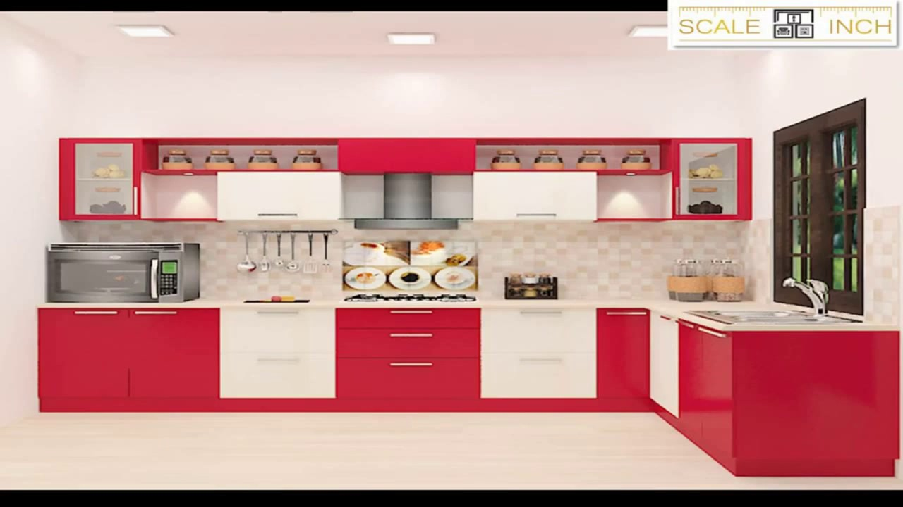 L Shaped Modular Kitchen Designs By Scale Inch Part 60