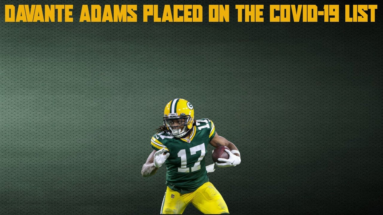 Green Bay Packers receiver Davante Adams tests positive for ...