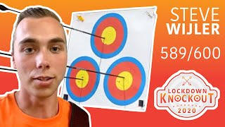 Steve Wijler shoots 589/600 for qualification | Lockdown Knockout