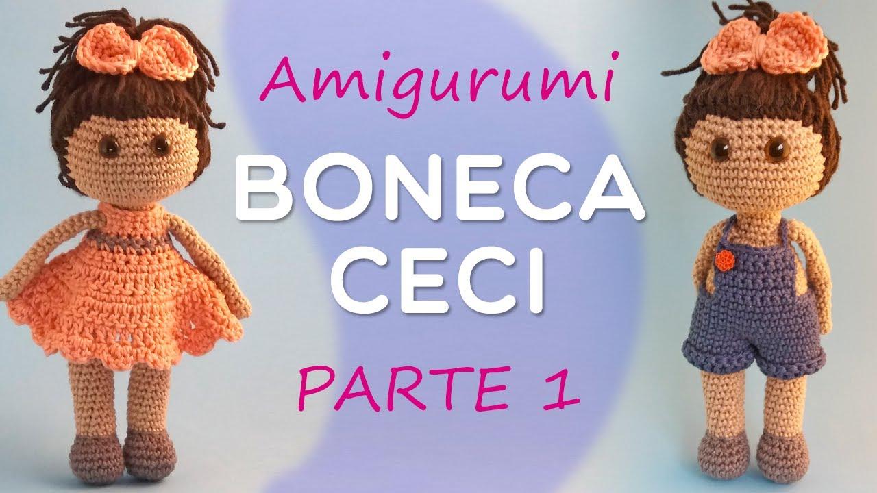 Bonecas amigurumi passo a passo #amigurumi #croche #crocheting ...   720x1280