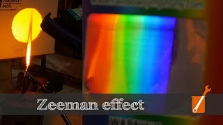 Zeeman Effect - Control light with magnetic fields