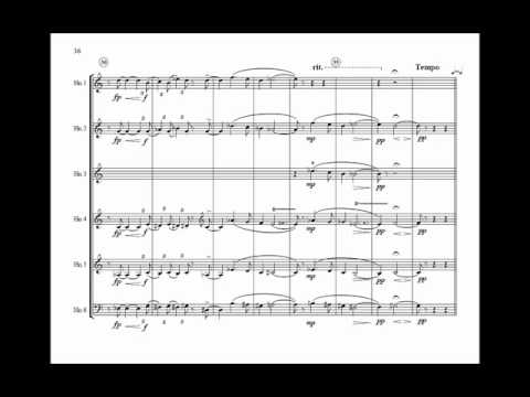 Courante from Suite for Horn Sextet by Richard Campanelli