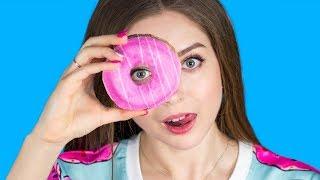 DIY Кавайные ПОНЧИКИ  Декор / Организация / Канцелярия в виде пончиков  Afinka