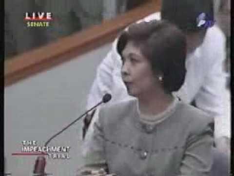 "Impeachment Trial of President Joseph Estrada: ""...documents signed by 'Jose Velarde' """