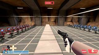 Team Fortress 2 : tr_walkway : Sentry Arena