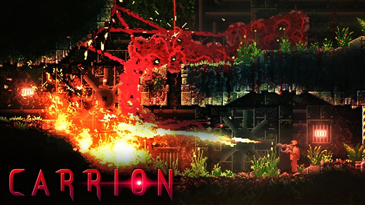 Carrion - Official Gameplay Trailer - YouTube