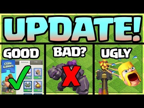 Clash of Clans UPDATE - Christmas 2017 Update - The TRUTH.