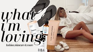 Currently Loving: Acne Prone Skincare, Body, Hair, & Fashion in June