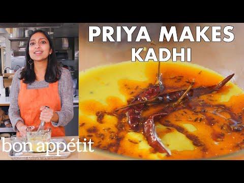 Priya Makes Creamy Indian Soup (Kadhi) | From the Test Kitchen | Bon Appétit