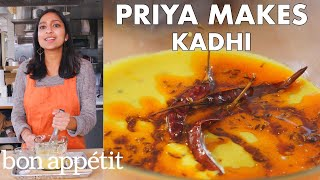 Priya Makes Creamy Indian Soup (Kadhi) | From the Test Kitchen | Bon Appétit
