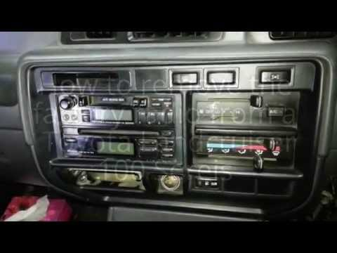 How To Remove The Radio From A Toyota Landcruiser