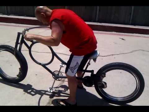 Hubless Bicycle Wheel 2010 05 30 Youtube