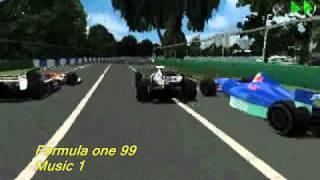 Formula one 99 (ps1) soundtrack - Menu/race music 1