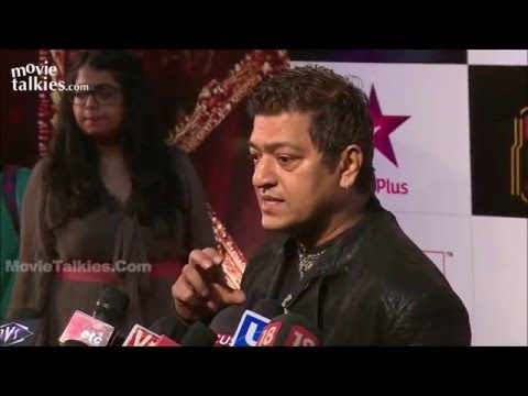 Aadesh Shrivastava's interview at Big Star Entertainment Awards-2014. Red carpet