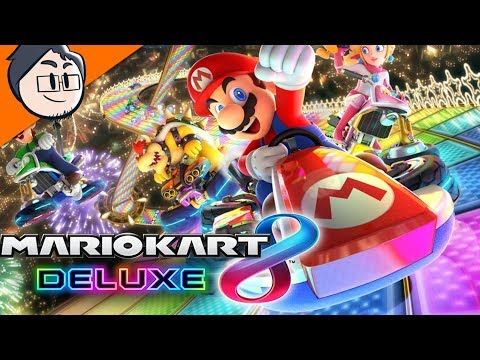 THE ONLY RACING GAME I LIKE!? - MARIO KART 8 DELUXE!