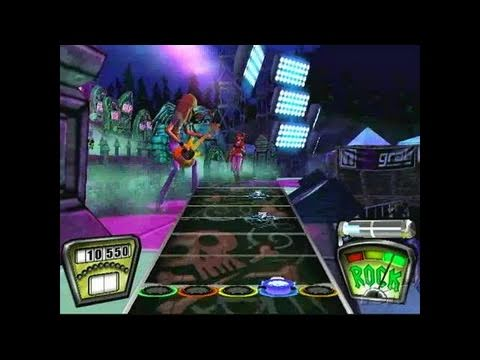 Guitar Hero II (game only) PlayStation 2 Gameplay - YYZ,