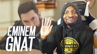 HE DISSED MGK AGAIN! | Eminem - GNAT (Dir. by @_ColeBennett_) (REACTION!!!)