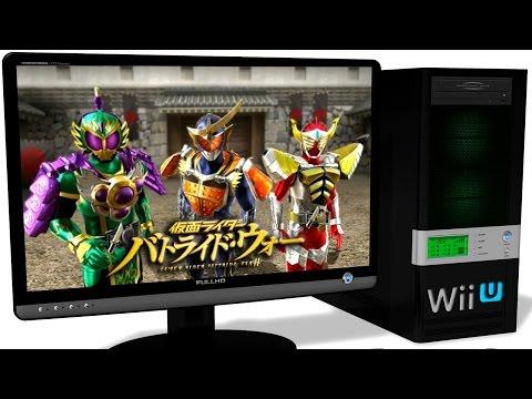 CEMU 1.6.0 Wii U Emulator - Kamen Rider: Battride War II (2014). Ingame. Test run on PC #1