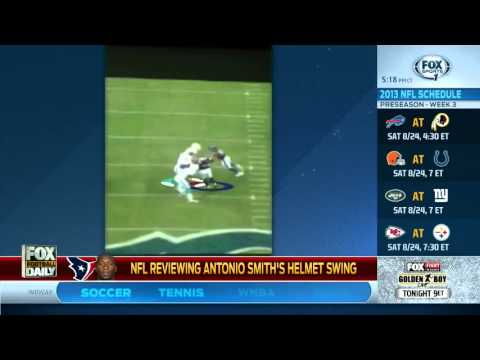 Video Of Antonio Smith Hitting Richie Incognito With Helmet Could Lead To Suspension