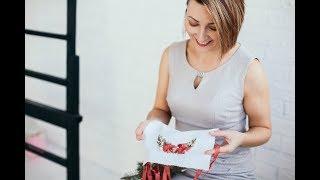 Секреты картин на 1000000$. Вышивка лентами для начинающих пошагово 3 / Embroidery ribbons 3 part