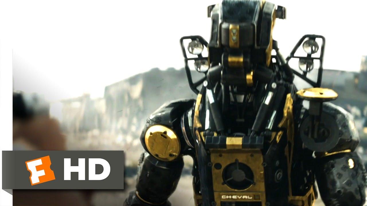 Download Elysium (2013) - Bot Combat Scene (3/10) | Movieclips