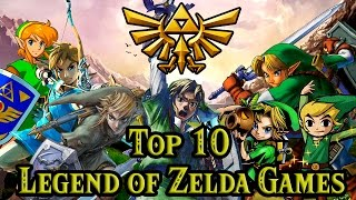 Top 10 The Legend of Zelda Games (With Breath of the Wild)