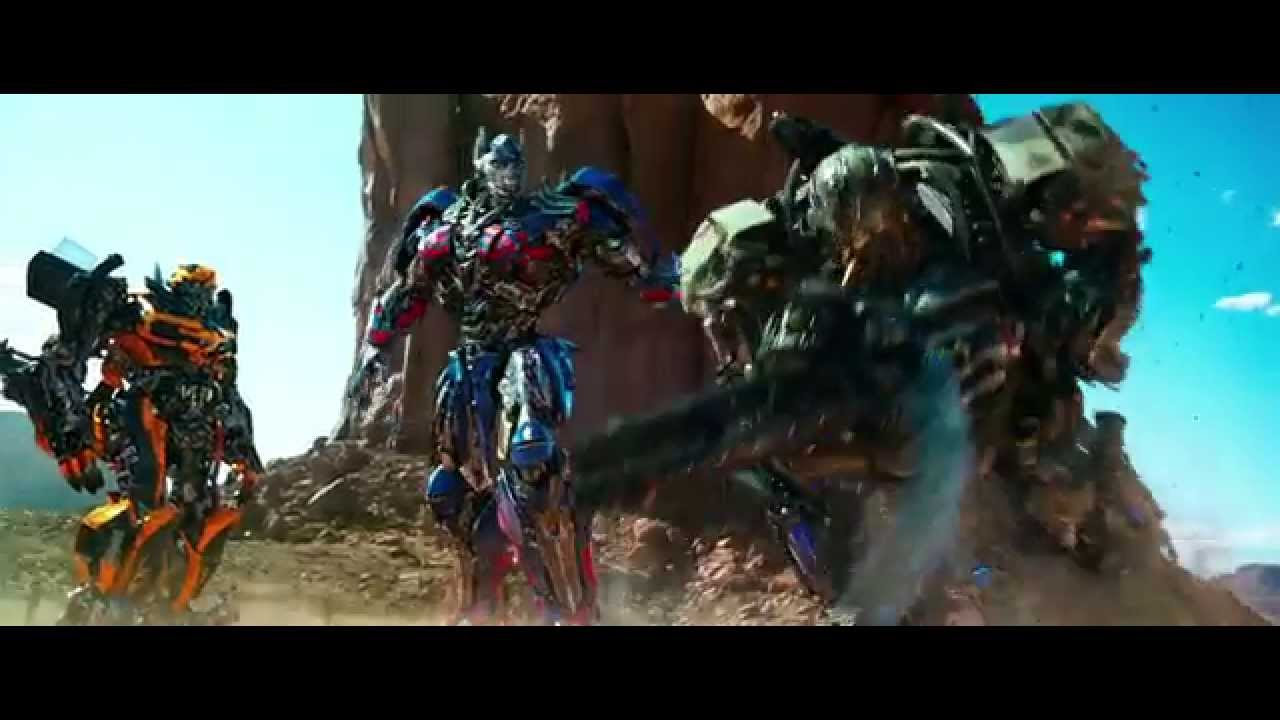 transformers: age of extinction 1080p hd autobots reunite - youtube