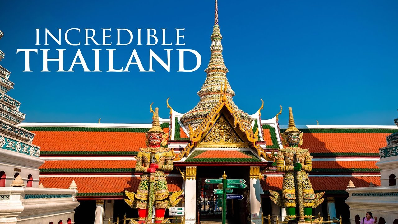 Timelapse - Incredible Thailand   Невероятный Таиланд