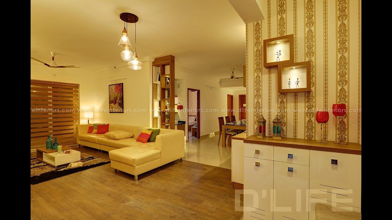 Apartment Interior Design Of Skyline Palazzo Kottayam D Life Youtube