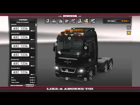 [Euro Truck Simulator 2] Custom camion MAN