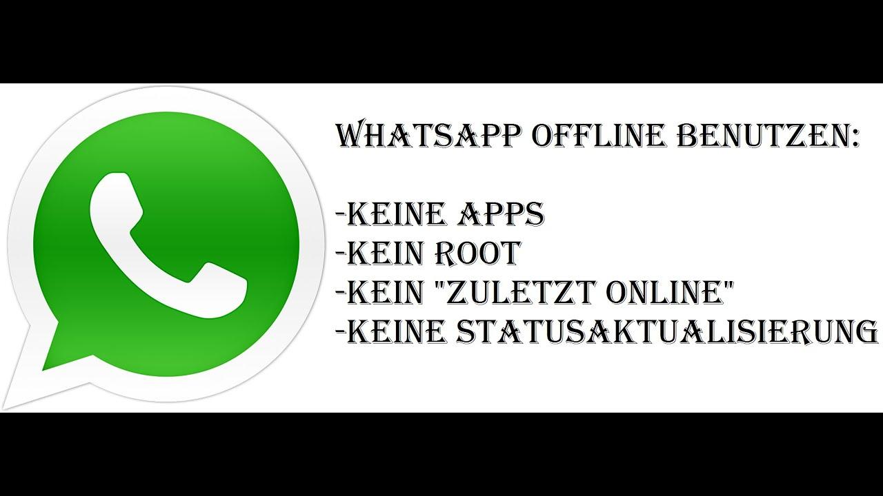 whatsapp lesen aber nicht online