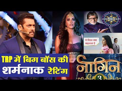 Bigg Boss 12: BARC TRP ratings; Salman Khan's show FAILS, Naagin 3 tops the chart again   FilmiBeat Mp3