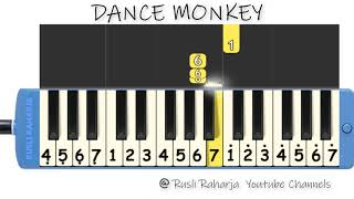 Download lagu Dance Monkey not pianika