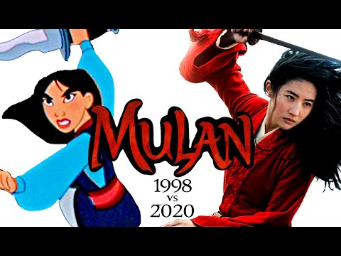 Mulan 1998 Trailer 2 Mulan 2020 Style Shot By Shot Comparison Youtube