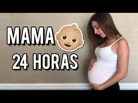 24 HORAS SIENDO MAMÁ EMBARAZADA | Lyna Vlogs