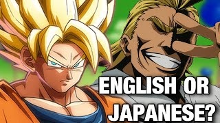 The Importance of Consistent Character Voices in Anime & Games