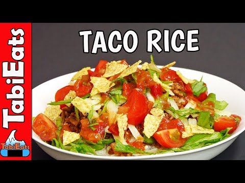 How to Make TACO RICE (Okinawan Recipe)