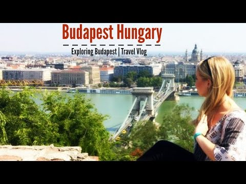 Budapest Hungary Travel Vlog| Exploring the City, Thermal Baths, and Buda Castle!