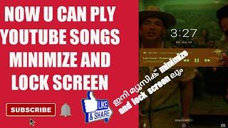#YouTubers #lockscreen #minimize #music #song