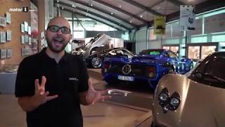 We Visited The Pagani Factory!