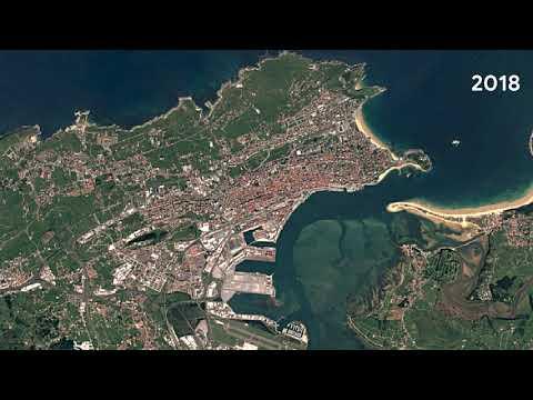 Este time-lapse de Google Maps muestra cómo ha cambiado Santander desde 1984