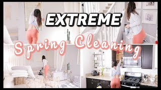 EXTREME All Day CLEAN WITH ME! Spring Cleaning Edition 🌼
