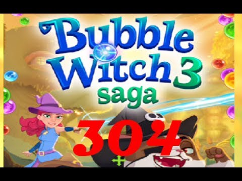 Bubble Witch Saga 3 - Level 304 - No Boosters