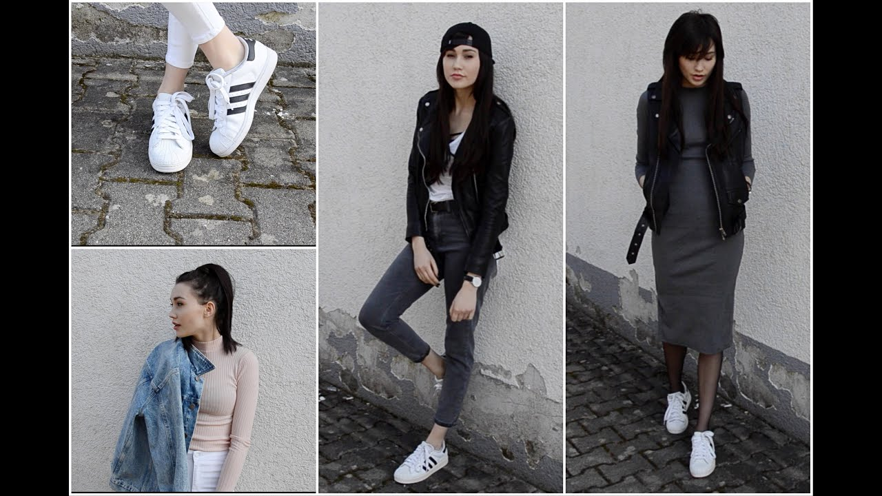 How I Style Adidas Superstar Xeniiyz Youtube