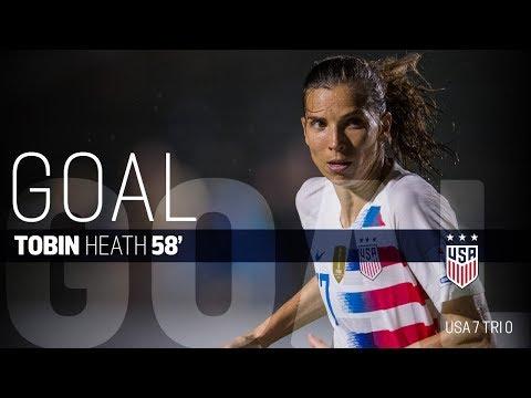 WNT vs. Trinidad & Tobago: Tobin Heath Goal - Oct. 10, 2018