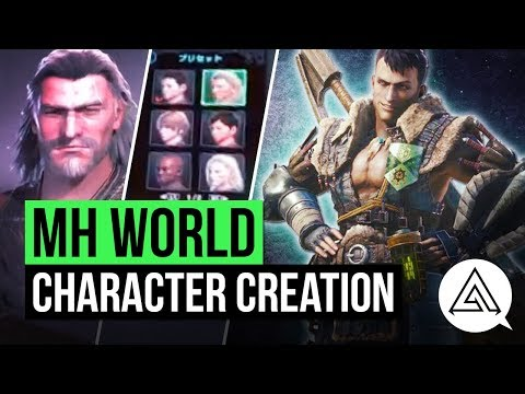 Monster Hunter World | First Look at Character Creation, Flagship Gameplay & Giant Elder Dragon!