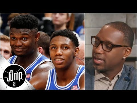 Tracy McGrady refuses to talk Zion Williamson: 'I talk NBA basketball' | The Jump