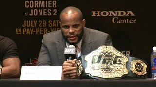 "UFC 214 press conference: Daniel Cormier vs. Jon ""Bones"" Jones"